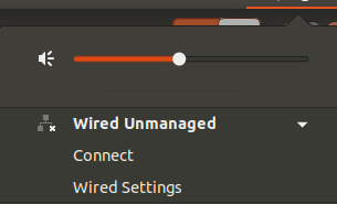 ubuntu wired nmanaged